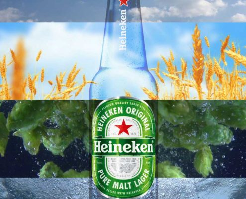 #earthday Heineken social media post