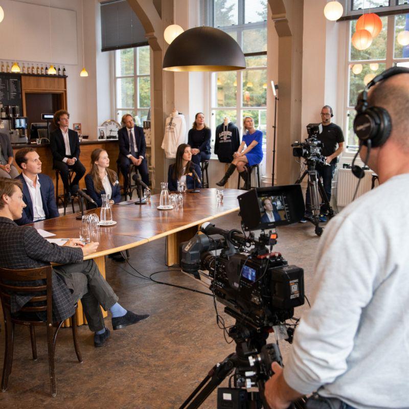 Livestream Universiteit Leiden